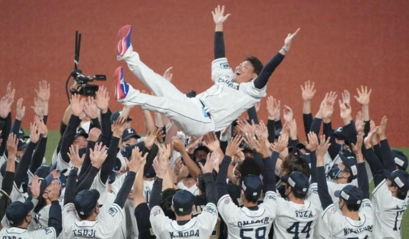 松坂投手引退!最後の5球